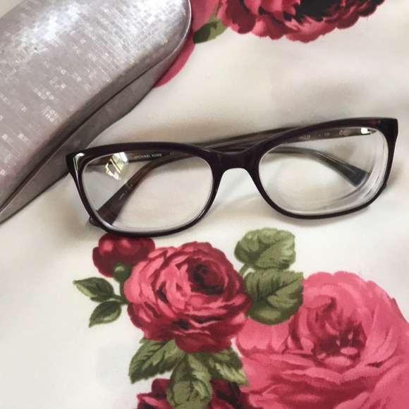 35053abace94 Michael Kors MK281 533 Plum Crystal Glasses Frames.  M_5c72e9839fe48608aa366808